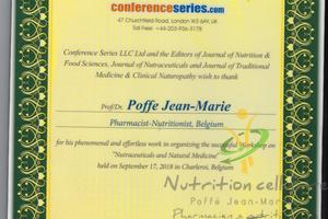 Nutrition Cellulaire -  Conférences